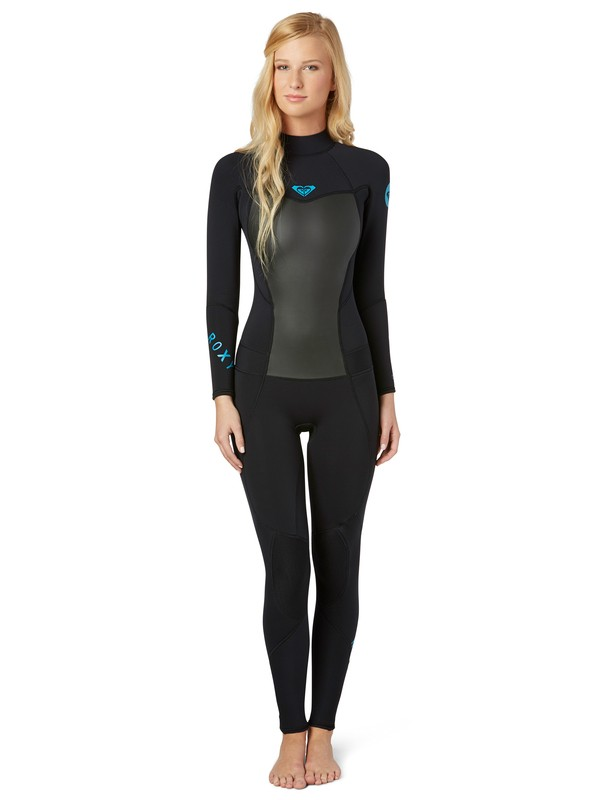 0 Syncro 3/2 Back Zip Flat Lock Seams Wetsuit  ARJW100000 Roxy