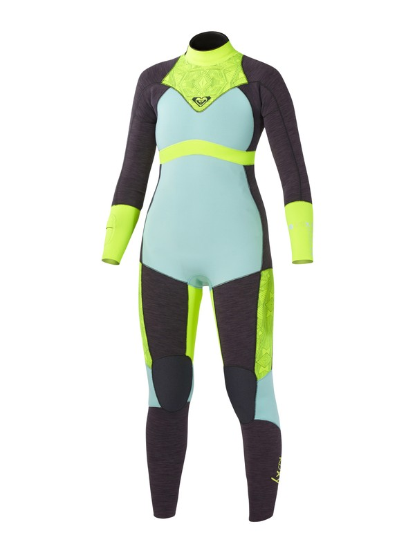 0 XY 3/2mm Back Zip Wetsuit Blue ARJW103001 Roxy