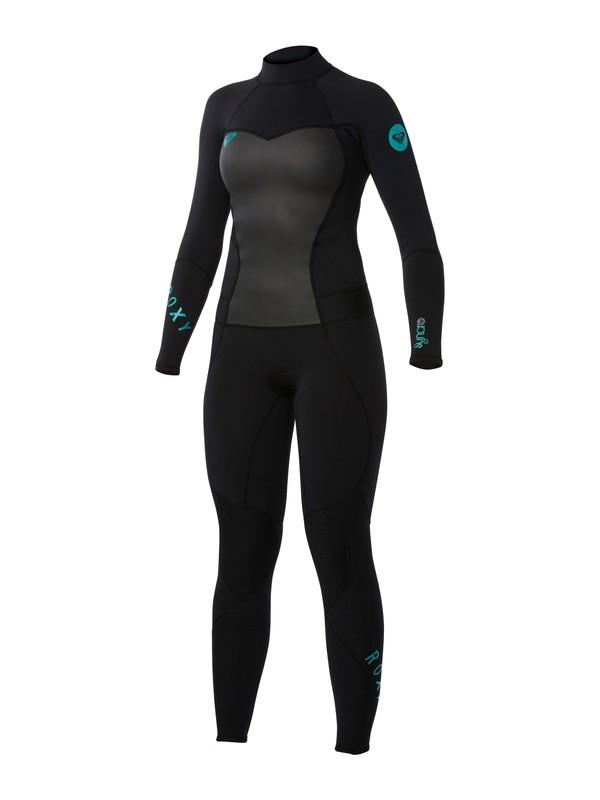 0 Syncro 3/2mm Back Zip Wetsuit  ARJW103004 Roxy