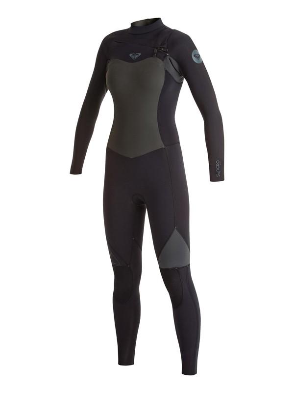 0 Syncro GBS 4/3mm - Chest Zip Wetsuit  ARJW103038 Roxy