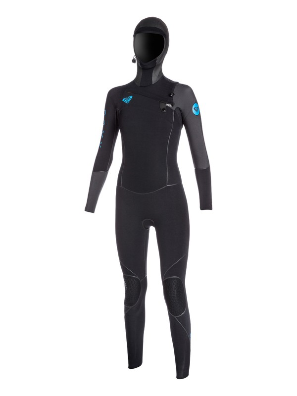 0 Cypher 5/4/3mm Hooded Chest Zip Hydrolock Wetsuit  ARJW200000 Roxy