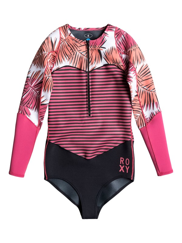 0 Palm Forever Long Sleeve Springsuit  ARJW403013 Roxy