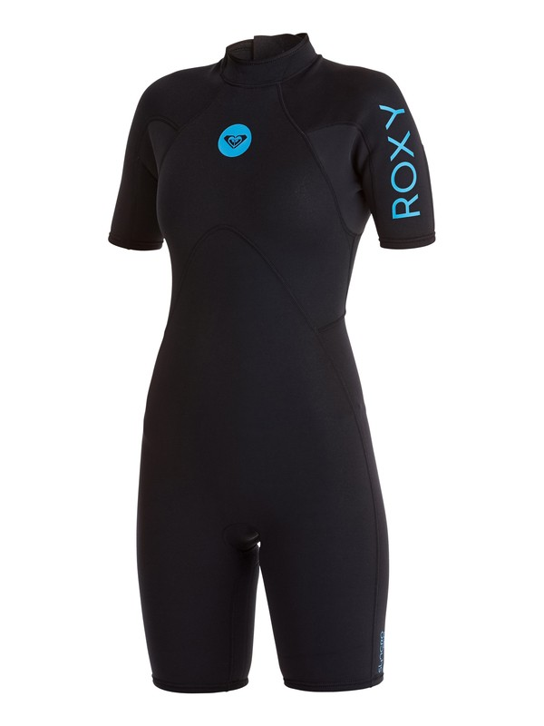 0 2/2mm Syncro - Springsuit manches courtes Back zip Noir ARJW503006 Roxy