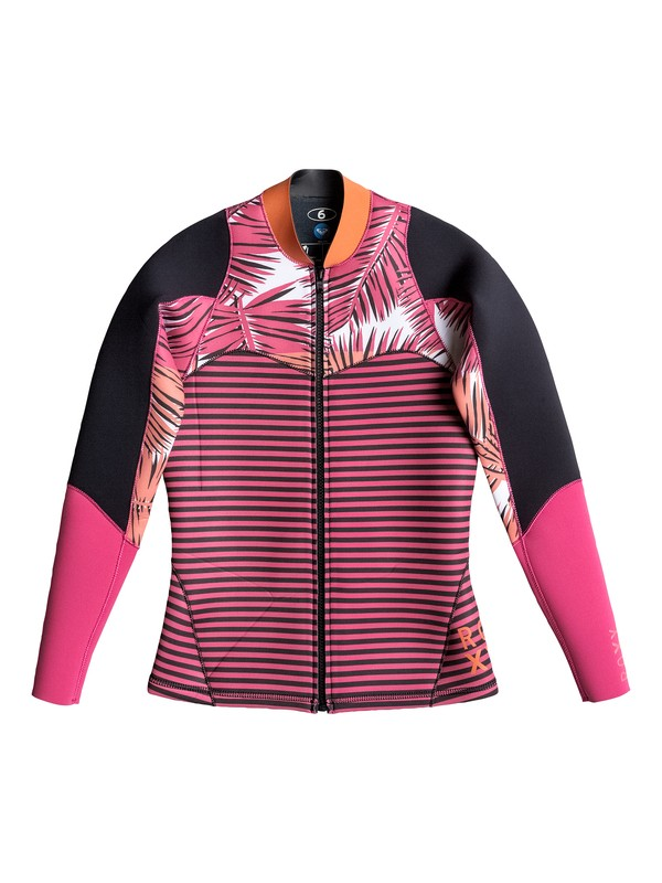 0 Palm Forever Surf Jacket  ARJW803016 Roxy