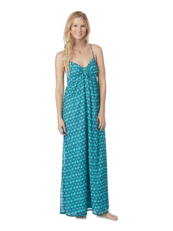 0 Solar Eclipse Maxi Dress Blue ARJWD00068 Roxy