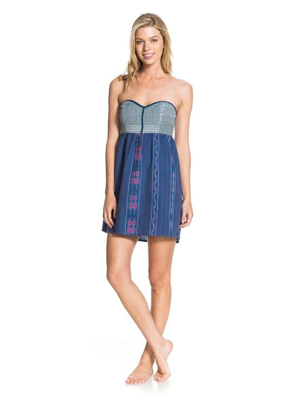 0 Wildlife Dress Blue ARJWD03016 Roxy