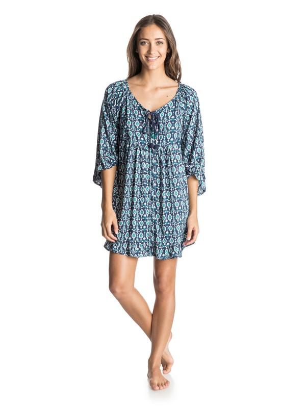 0 Blackbird Dress Blue ARJWD03019 Roxy