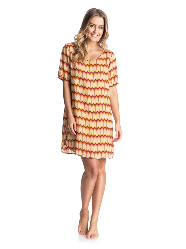 0 Retro Row Dress  ARJWD03047 Roxy