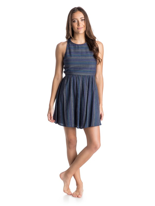 0 Coast To Coast Criss Cross Skater Dress  ARJWD03078 Roxy