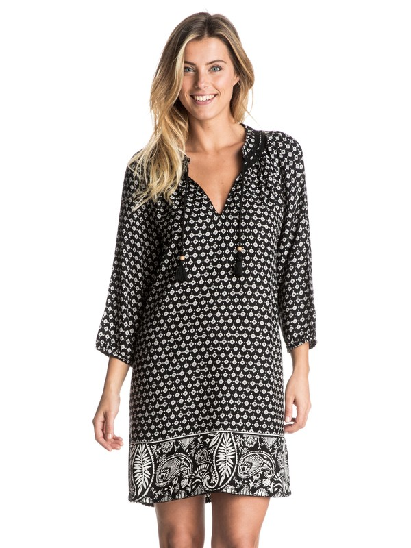 0 Farewell For Now  Long Sleeve Dress  ARJWD03163 Roxy