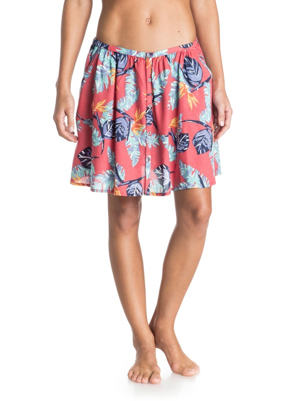 0 Cosmia - Printed Mini Swing Skirt  ARJWK03018 Roxy
