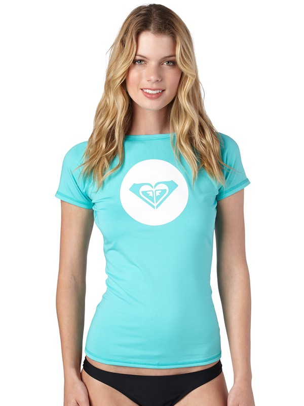 0 Shine On Short Sleeve Rashguard  ARJWR00013 Roxy