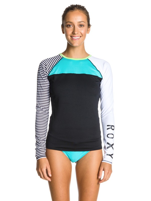 0 Neon Tide Long Sleeve Top  ARJWR00015 Roxy