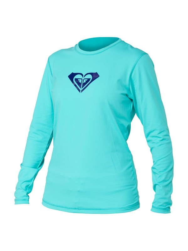 0 Basically Roxy Long Sleeve Rashguard  ARJWR00030 Roxy