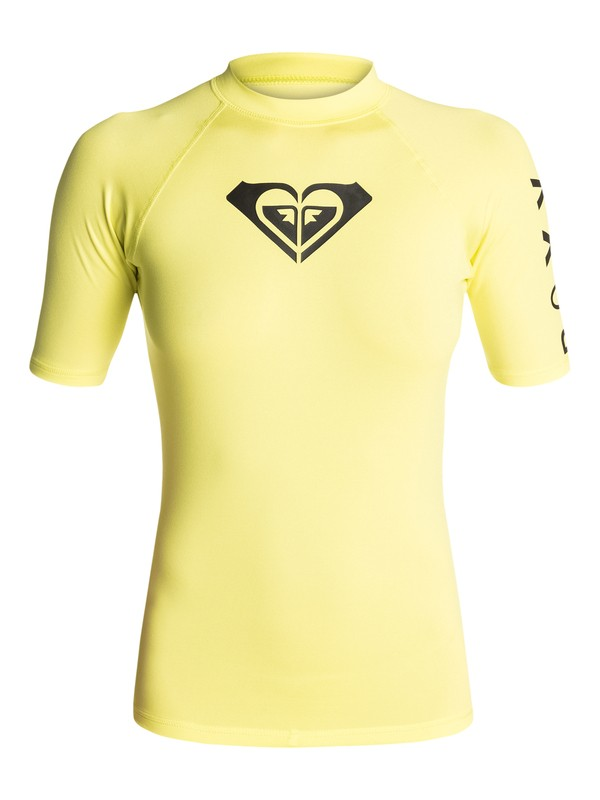0 Whole Hearted - Short Sleeve Rash Vest  ARJWR03034 Roxy