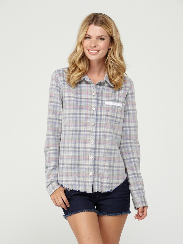 0 Brooklyn Long Sleeve Shirt  ARJWT00030 Roxy