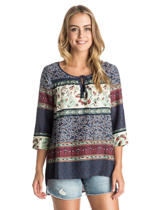 0 Gypsy Breeze Top Blue ARJWT03010 Roxy