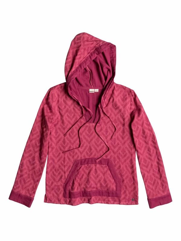 0 Hazelton Pullover Hooded Poncho  ARJWT03072 Roxy