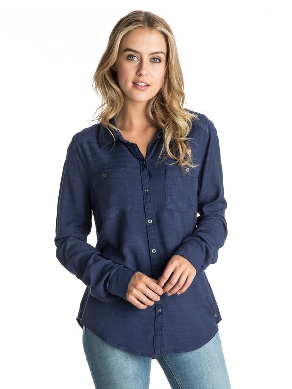 0 Caravan Canyon - Long Sleeve Shirt  ARJWT03074 Roxy