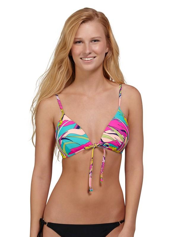 0 Island Dreams Boost Tie Bra Bikini Top  ARJX300030 Roxy