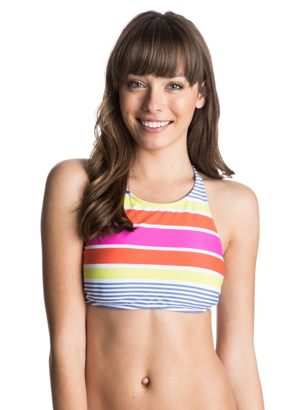 0 Sail Away Halter Bikini Top  ARJX303070 Roxy