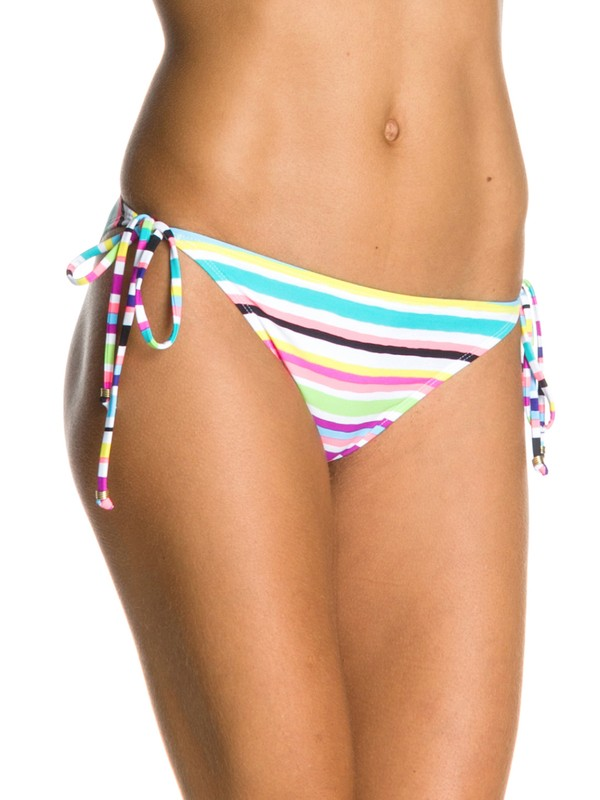 0 Sun Kissed Brazilian String Bikini Bottoms  ARJX400016 Roxy