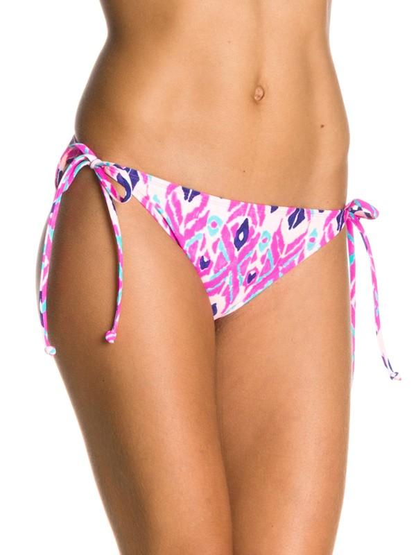 0 Moroccan Moon 70s String Bikini Bottoms  ARJX400034 Roxy