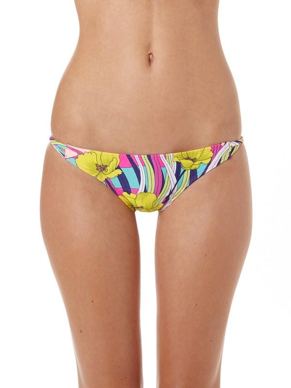 0 Island Dreams Binded Itsy Bitsy Bikini Bottoms Blue ARJX400049 Roxy