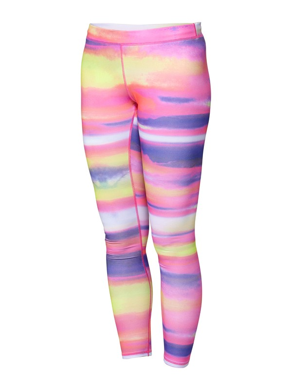 0 Fit For Waves Surf Leggings Pink ARJX400073 Roxy