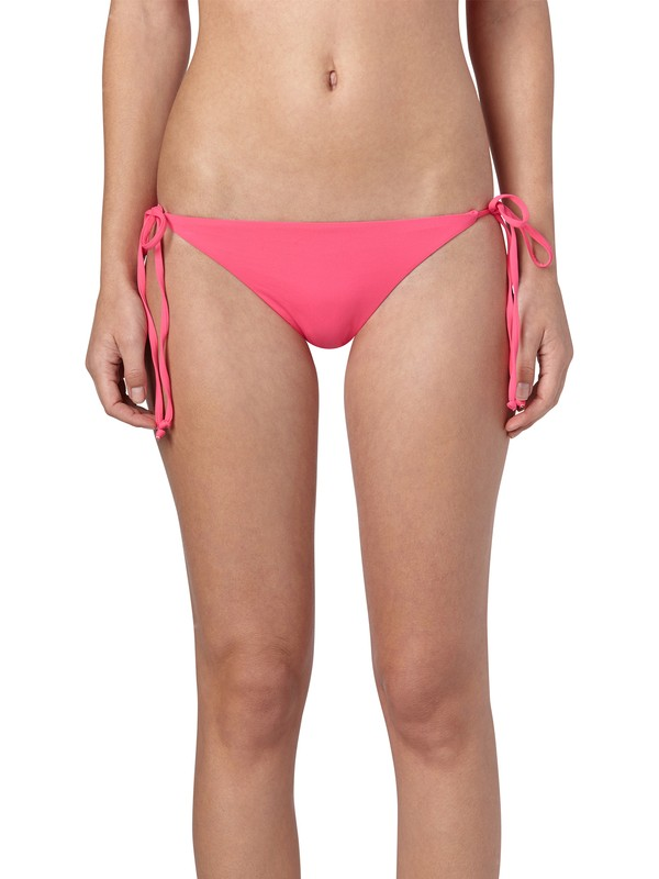 0 Fun and Flirty Mini Tie Side Bottoms Pink ARJX400146 Roxy