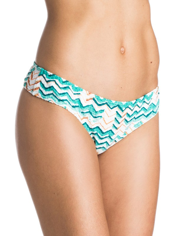 0 Sun Sand Salt Cheeky Mini Bikini Bottoms  ARJX403123 Roxy