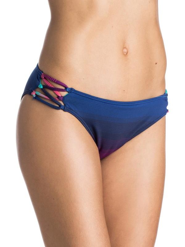 0 Shades Of Summer 70S Bikini Bottoms  ARJX403128 Roxy