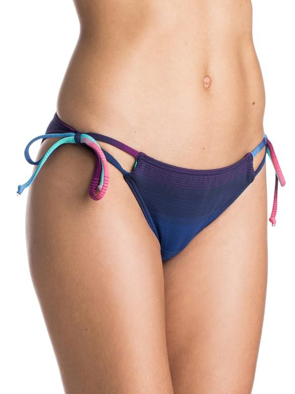 0 Shades of Summer Tie Side Bikini Bottoms  ARJX403129 Roxy