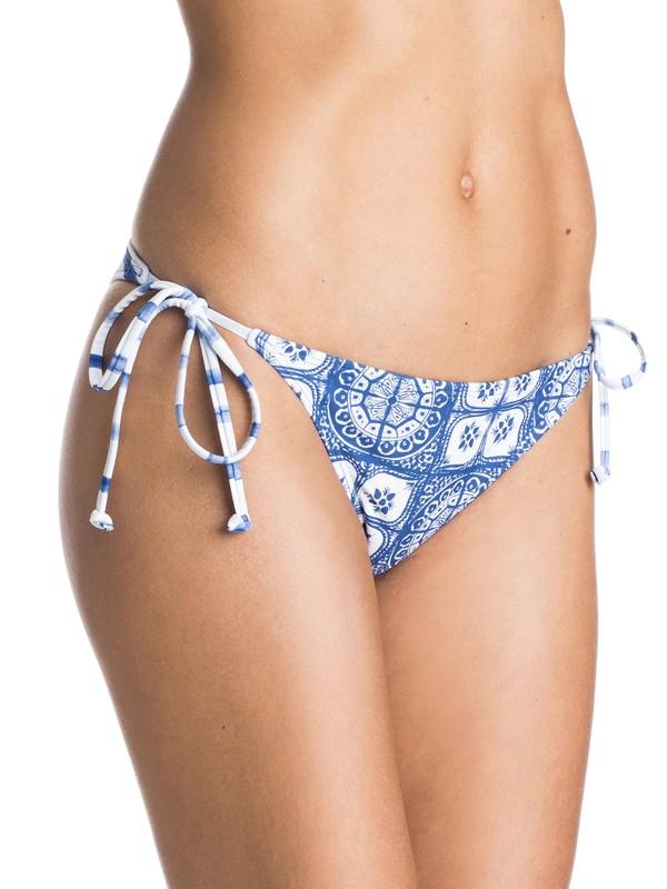 0 Tides of Way Tie Side Mini Bikini Bottoms  ARJX403138 Roxy