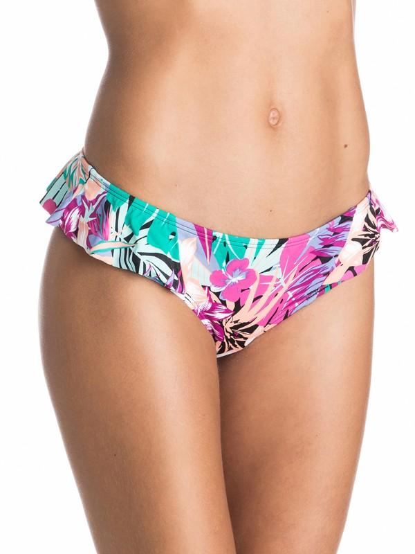 0 Garden Party Ruffle Surfer Bikini Bottoms  ARJX403170 Roxy