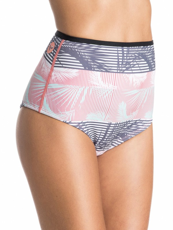 0 Pop Surf High Waisted Bikini Bottoms  ARJX403180 Roxy