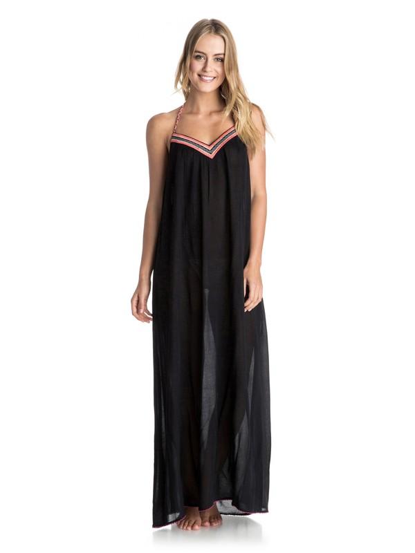 0 Livin Free Maxi - Halter Maxi Dress  ARJX603046 Roxy