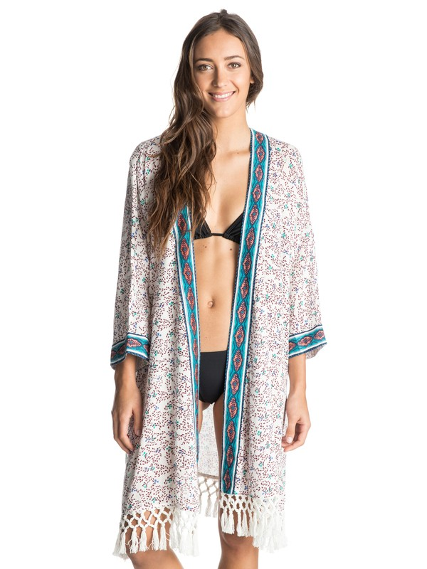 0 Woodstock Kimono Cover Up  ARJX603059 Roxy