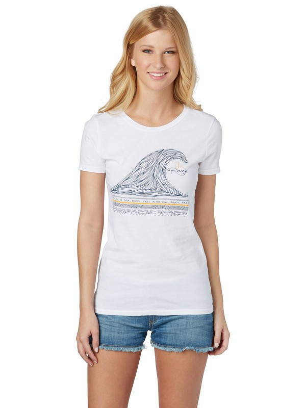 0 On The Wave SC T-shirt  ARJZT00429 Roxy