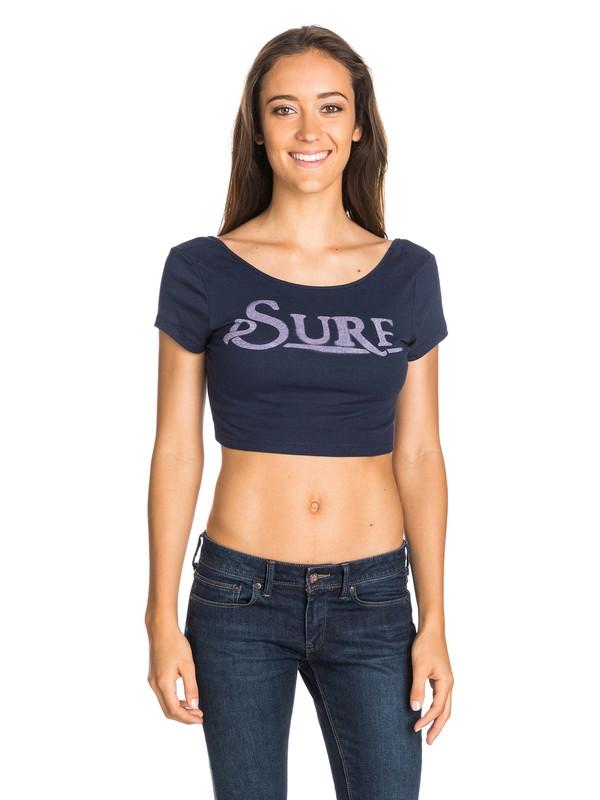 0 Surf Crop Tee  ARJZT03096 Roxy