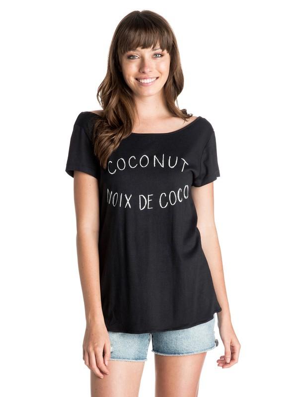 0 Noix De Coco Tee  ARJZT03336 Roxy
