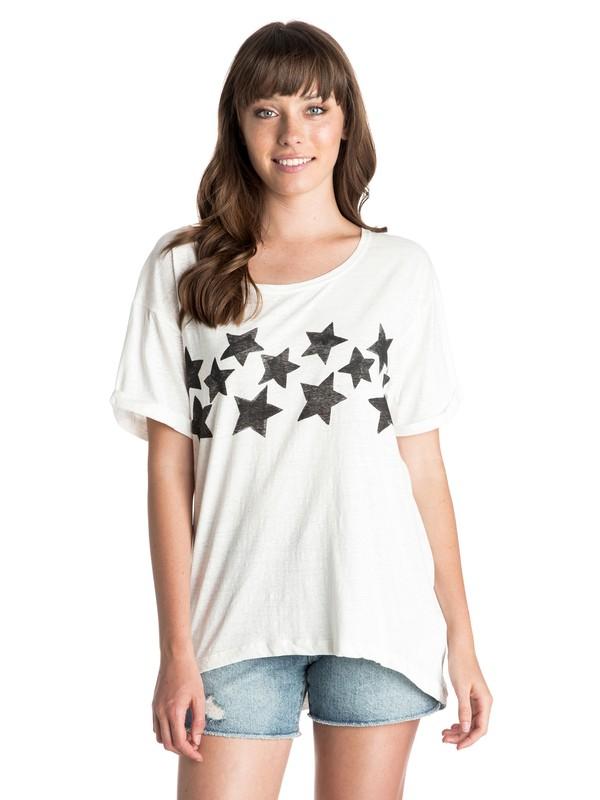 0 Stars - Boyfriend Fit T-shirt  ARJZT03388 Roxy