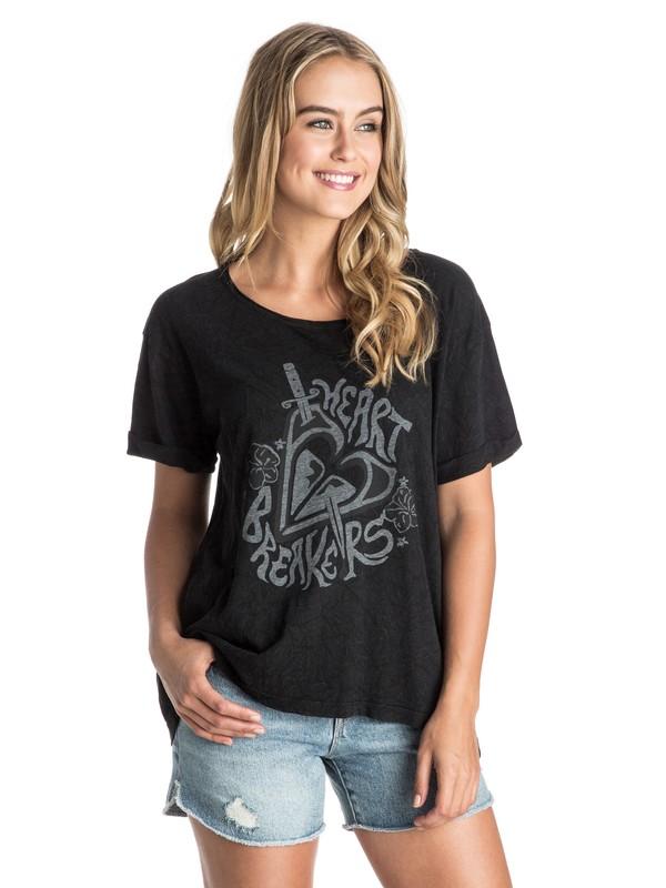 0 Heart Breakers - T-Shirt  ARJZT03389 Roxy