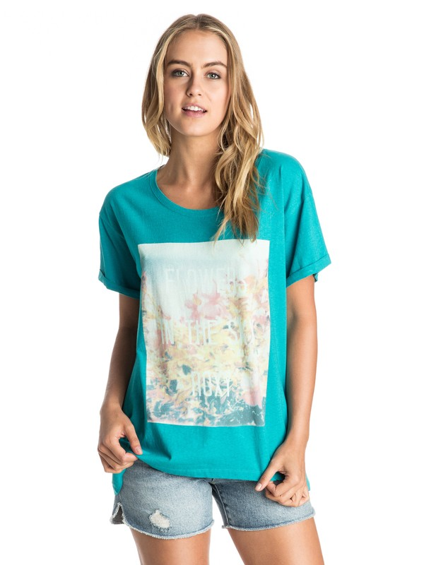 0 In The Sky Tee  ARJZT03566 Roxy