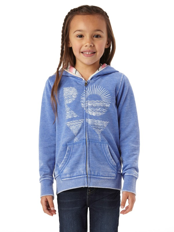 0 Girls 2-6 Peace Please Roxy Hoodie  ARLFT00060 Roxy