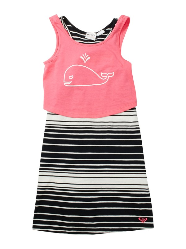 0 Girls 2-6 Sea Sunset Dress  ARLKD00035 Roxy
