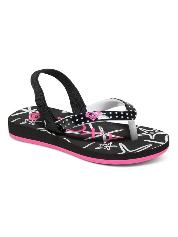 0 Girls 2-6 Pebbles Flip Flops Multicolor ARLL100016 Roxy