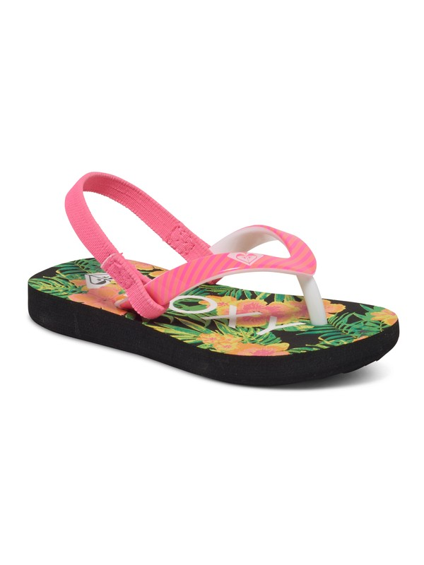 0 Girls 2-6 Pebbles Flip Flops  ARLL100016 Roxy