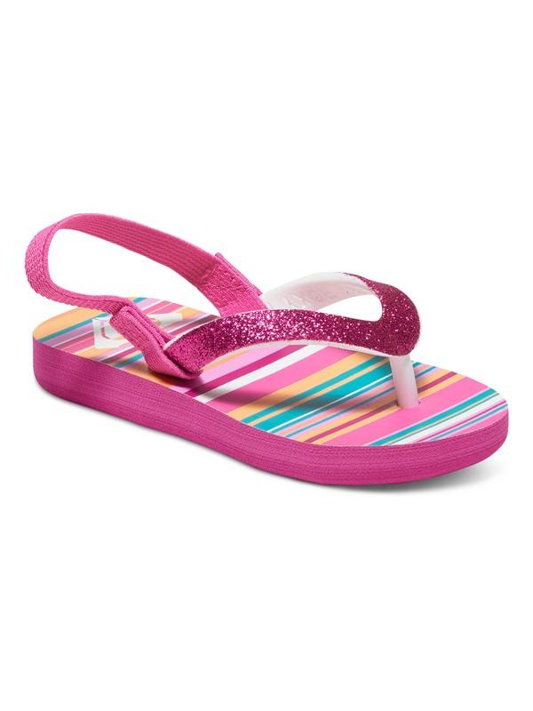 0 Girl's 2-6 Tahiti Flip Flops  ARLL100059 Roxy