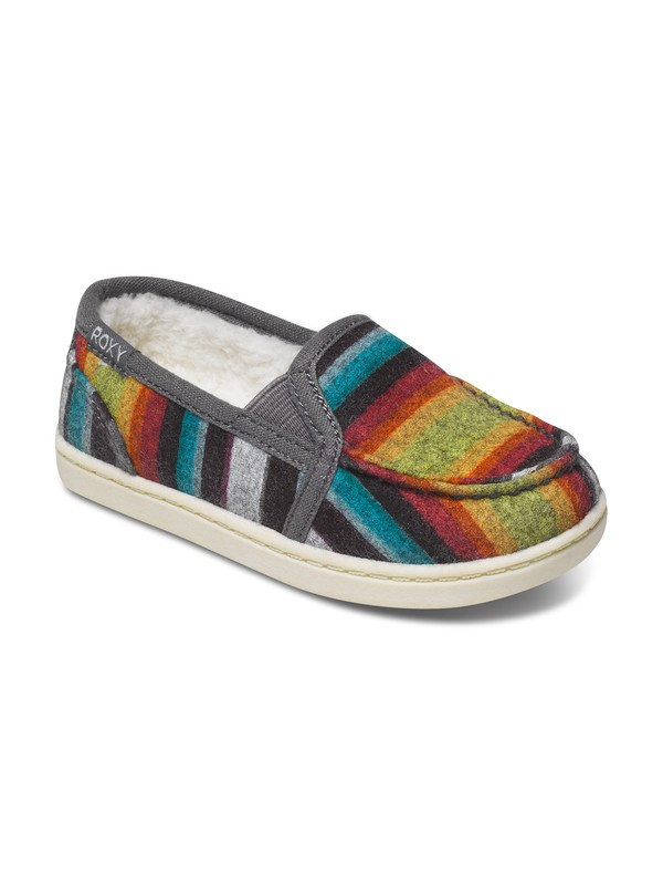 0 Girls 2-6 Lido Wool Slip-On Shoes  ARLS600025 Roxy
